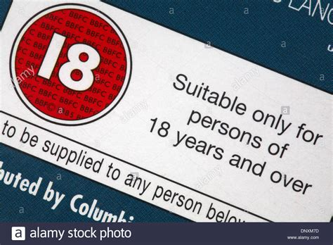 Suitable Only For Persons Of 18
