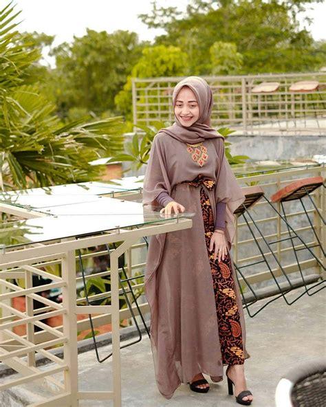 model baju batik terbaru kombinasi atasan couple