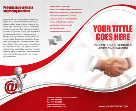 fold brochure template tri fold brochure