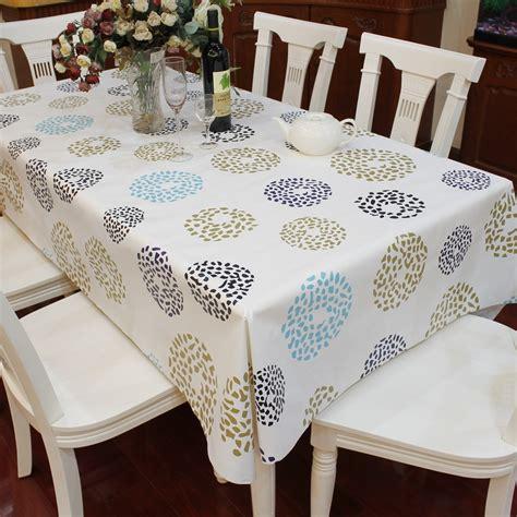nappe de cuisine multi taille pvc imperméable nappe cercle point motif