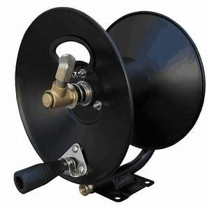 General Pump Hose Reel 150 U0026 39  X 3  8 U0026quot  With Mounting Base