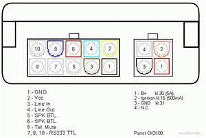 Parrot Ck3100 Pod U0142 U0105czenie Kabel Mute