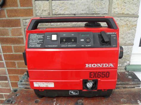 HONDA EX650 GENERATOR   Sandown   Sold   Wightbay