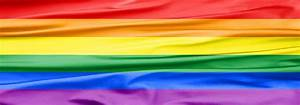 Lgbt Rainbow Banner Photograph by Semmick Photo