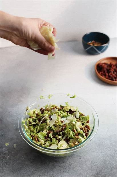Salad Brussels Sprouts Shredded Perfect Dish Side