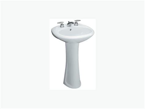 Pedestal Sink Mounting Bracket by Mancesa White Pedestal Sink Saanich