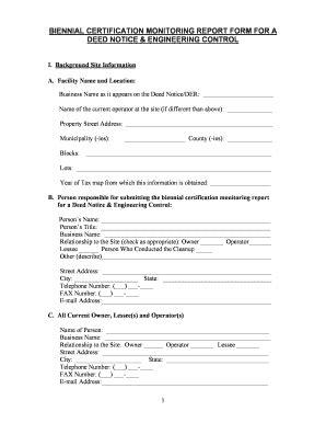 biennial certification fill online printable fillable