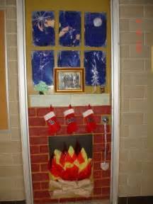 christmas door decorating contest fireplace designcorner