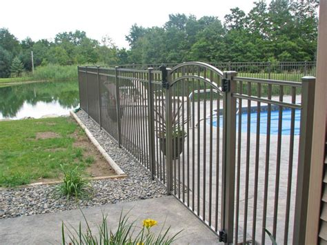 pools with fences pictures pool fencing archives poly enterprises