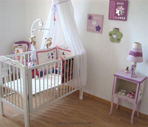 accessoire chambre fille décoration chambre de bébé fille