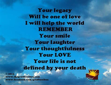 legacy     love  poem  grief toolbox