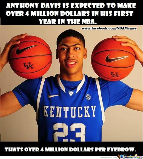 Anthony Davis Meme - anthony davis by nbamemes meme center