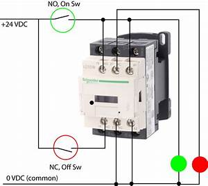 Contactor Schematic Diagram Simple Guide About Wiring