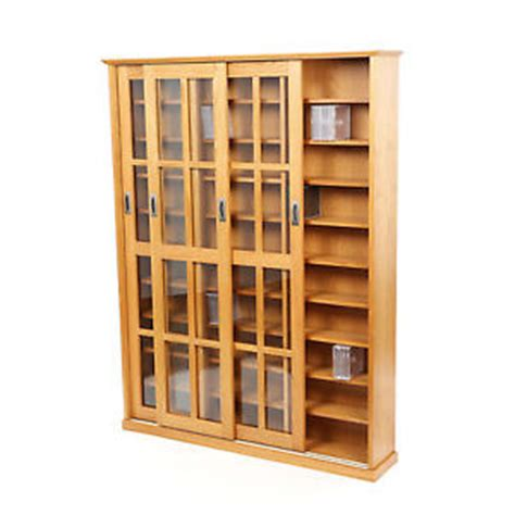 dvd storage cabinet with sliding glass doors large media cabinet cd dvd storage shelves sliding glass