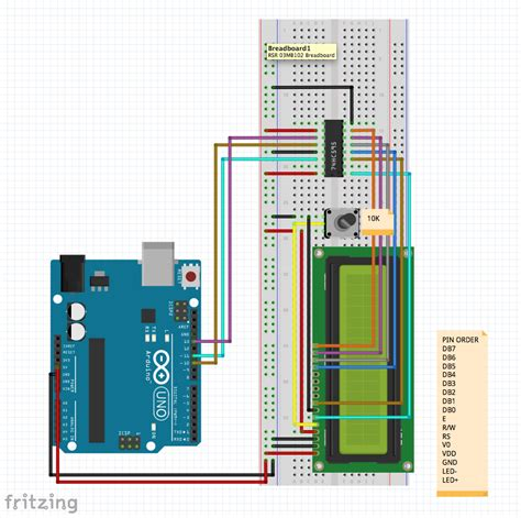 how to connect arduino 74hc595 lcd 16 215 2 alp tuğan