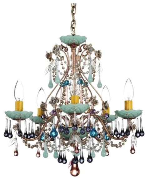 colored chandeliers interior exterior doors