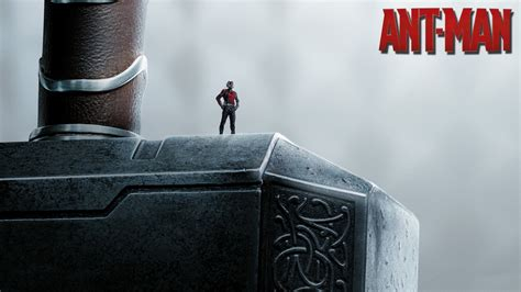Ant Man Thor Hammer 4k Wallpaper