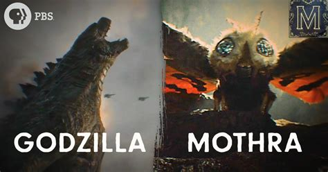 godzilla  mothra king  queen   kaiju season
