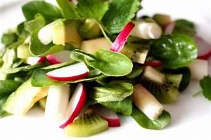 Spargel Avocado Salat : roher spargelsalat mit avocado und kiwi rezept orange ~ Lizthompson.info Haus und Dekorationen