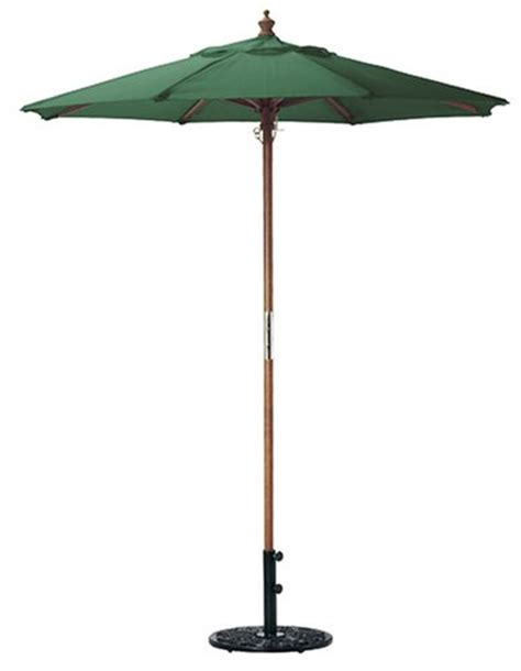 oxford garden 6 foot polyester market umbrella