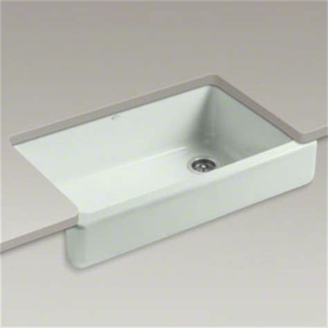 Kohler Retrofit Apron Sink by Kohler K 6489 0 Whitehaven Self Trimming Apron Front
