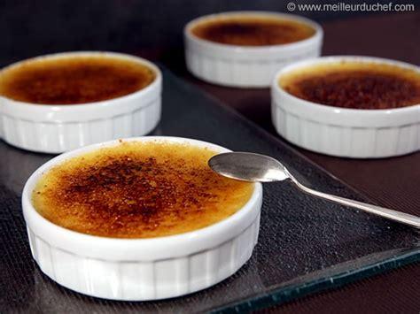 cuisine creme brulee crème brûlée recette de cuisine avec photos meilleurduchef com