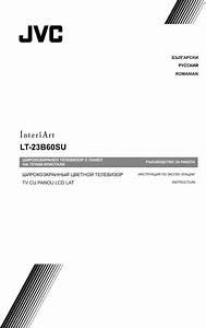 Jvc Lt 23b60su User Manual 50066117 Ro