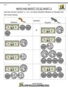 Printable Money Worksheets Grade 2