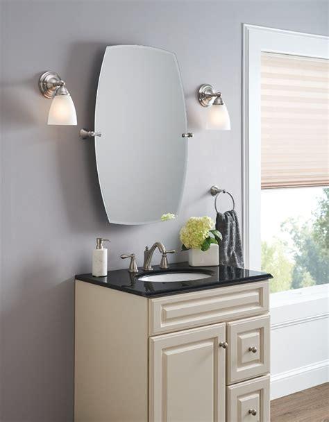 rockcliff brushed nickel mirror