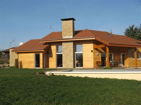 maison neuve en bois archicube flament berthoin architectes r 233 alisations maison neuve ossature bois et