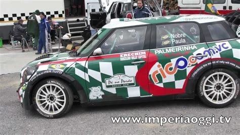 Mini Cooper Motorsport Italia Test Pre Rally Montecarlo