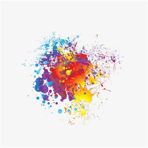 color painting effect color clipart color spray
