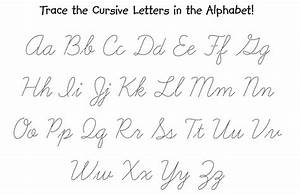 cursive letters tracing worksheet montessori pinterest With handwriting tracing letters