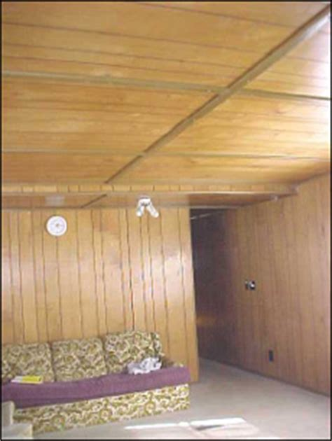 Mobile Home Ceiling Panels  Replacement, Repair, Or