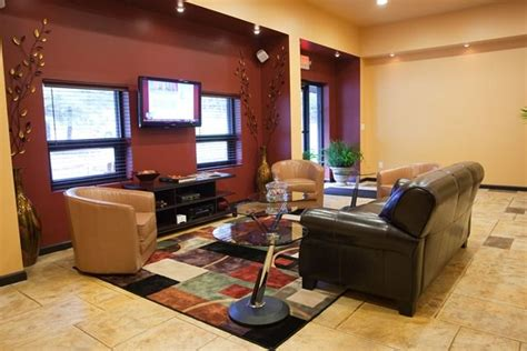 auto shop waiting rooms modern neutral waiting area