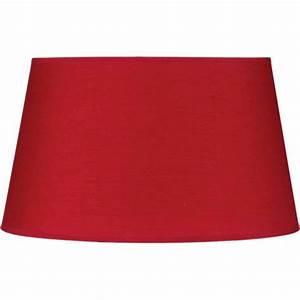 Abat Jour Rouge : abat jour rond 35cm rouge ~ Teatrodelosmanantiales.com Idées de Décoration