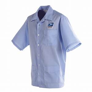 Postal uniform shirt jac mens for letter carriers and mot for Letter carrier uniforms
