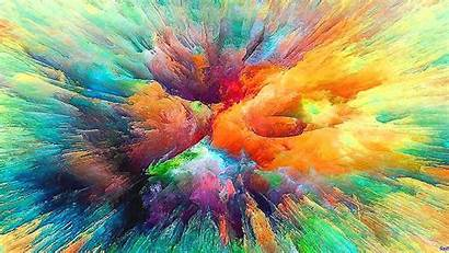 Abstract Colorful Burst Wallpapers Correction Wallhere