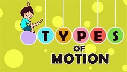 Motion Types Physics Mocomi Translatory Movement Science