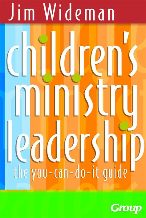 childrens ministry leadership      guide