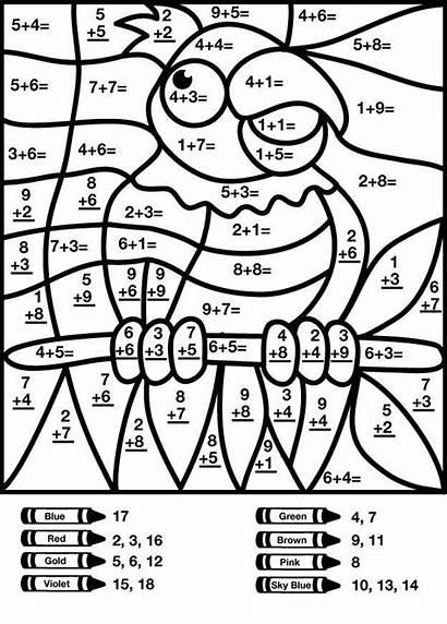 Number Addition Math Worksheets Numbers Grade Printable