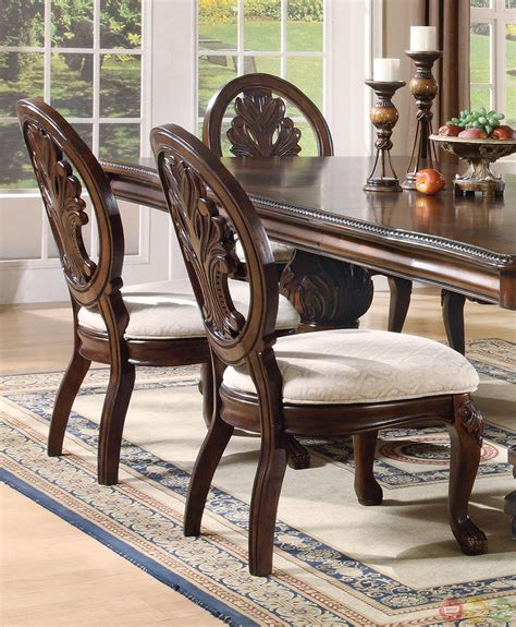 5 dining room sets cherry traditional 5 dining room set