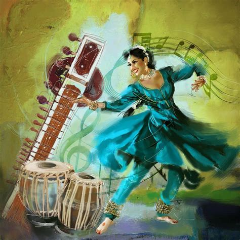 Musical instruments guitar orchestra, musical instruments elements, microphone, piano, happy birthday vector images png. Kathak dancer and musical instruments.   Dance paintings ...