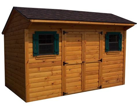 Tongue And Groove Boards For Sheds by Cedar Tongue Groove Saltbox Sheds Sheds By Siding