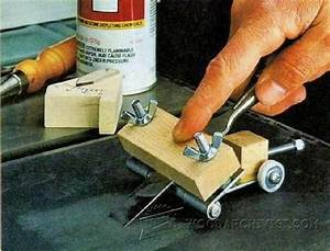 #1550 Chisel and Plane Iron Sharpening Jig • WoodArchivist