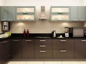 get an attractive cooking area with modular kitchens With l shaped kitchen design india