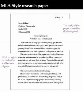 Template Of Mla Research Paper  Unit 4