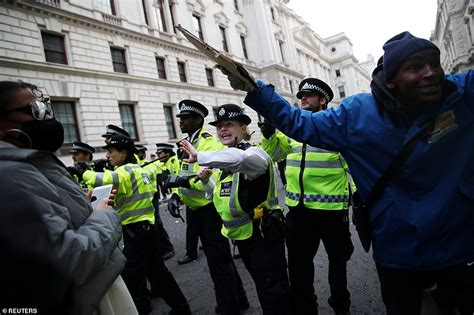 Priti Patel warns 'hooligans' who subverted Black Lives ...