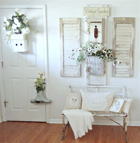 The Shabby Chic Cottage Junk Chic Cottage Winter Garden Decor Home