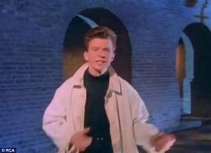 Rickroll Rick Astley music video is mysteriously removed ...